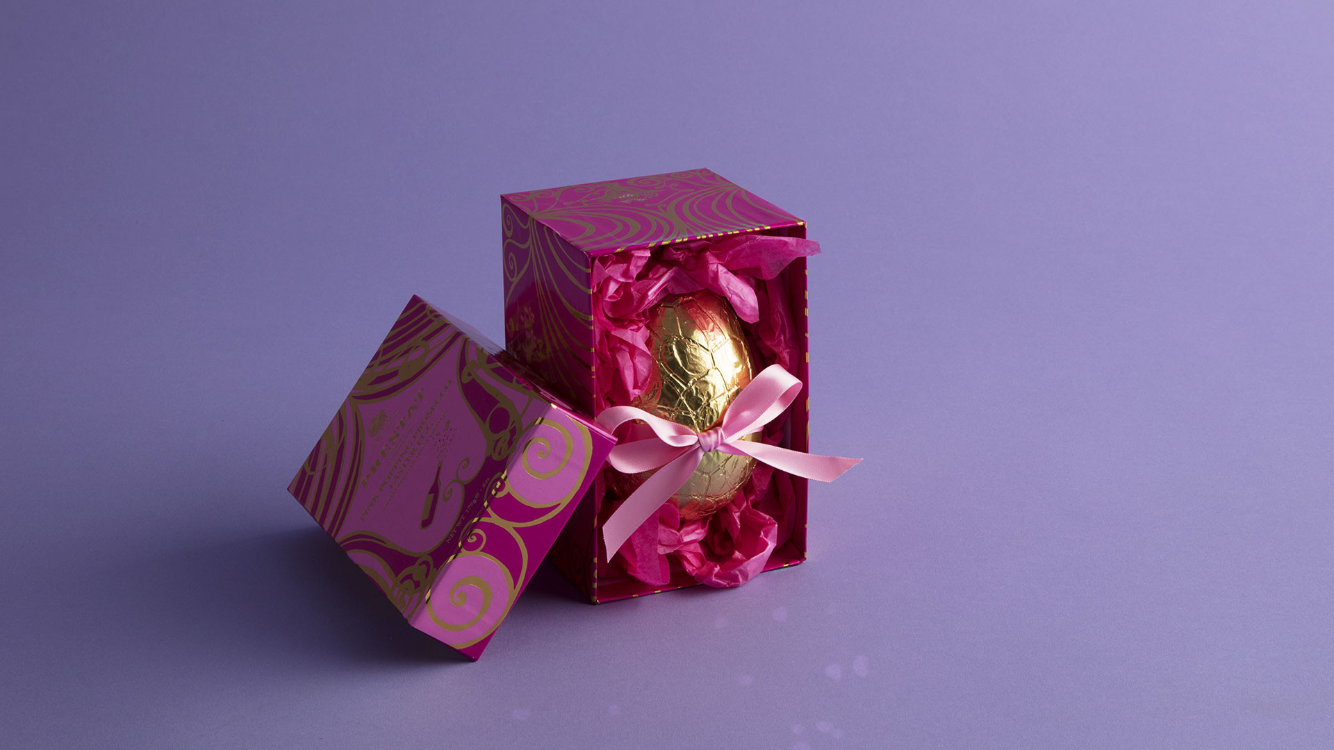 Prestat popping prosecco chocolate Easter egg