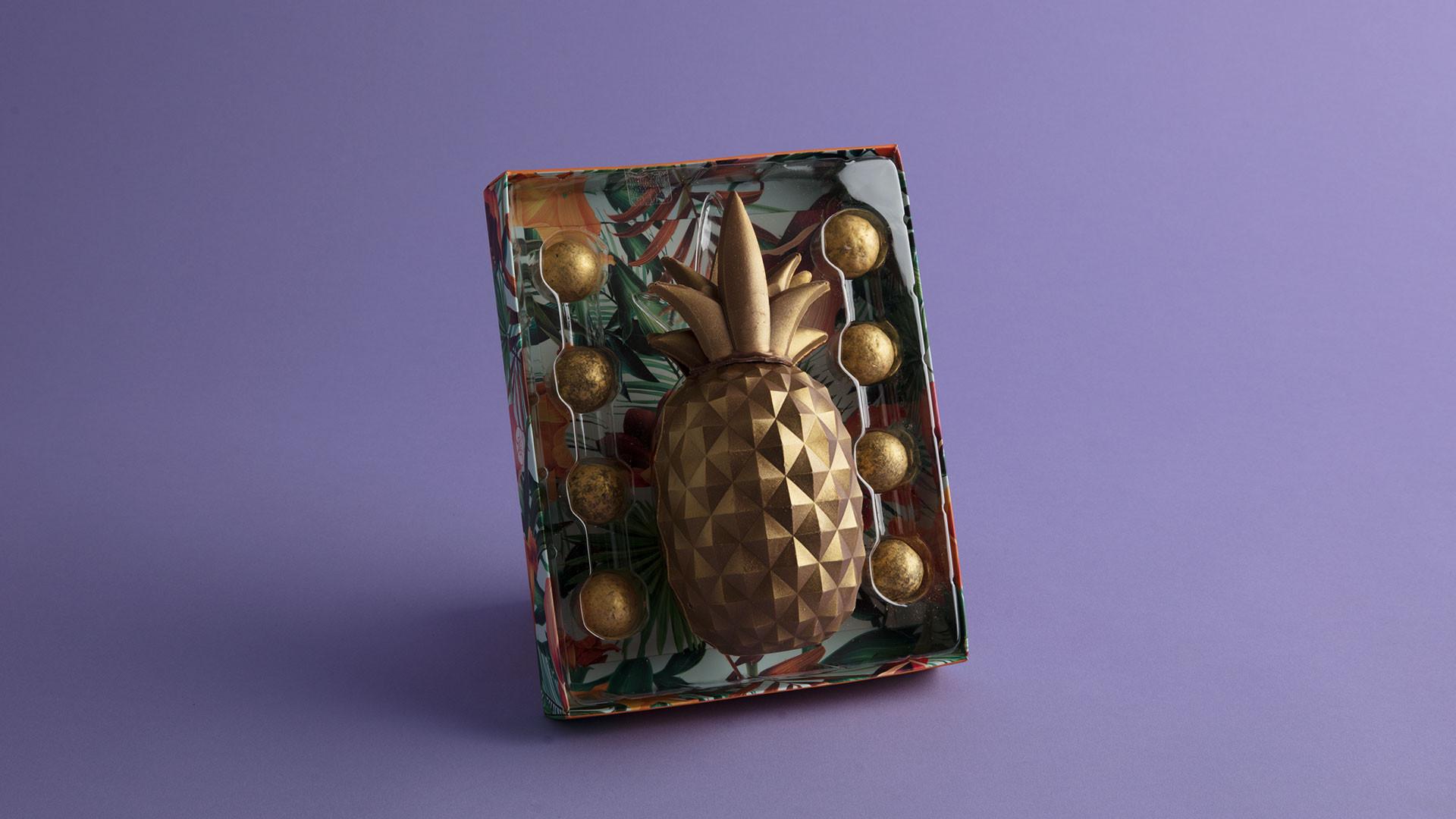 Artisan du Chocolat pineapple egg