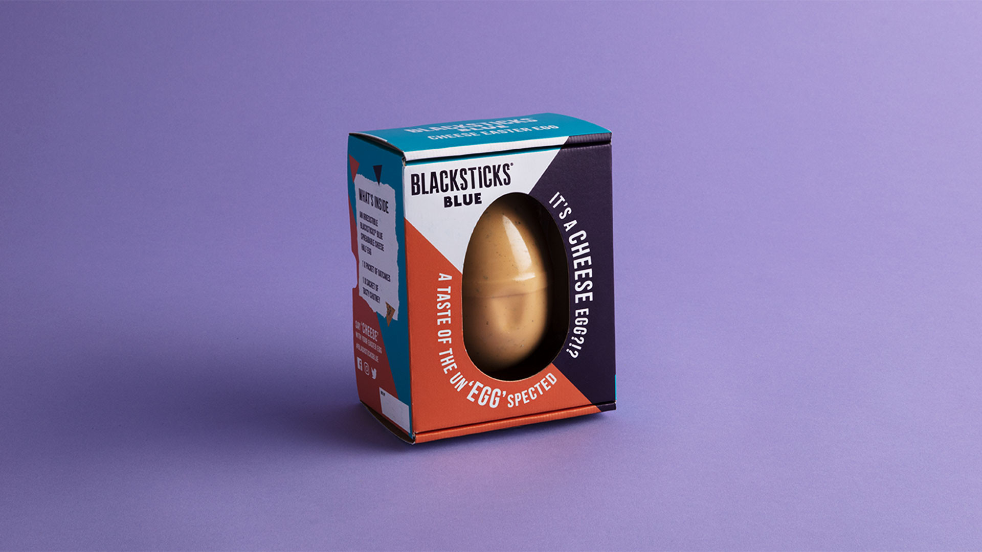 Blacksticks Blue blue cheese Easter egg