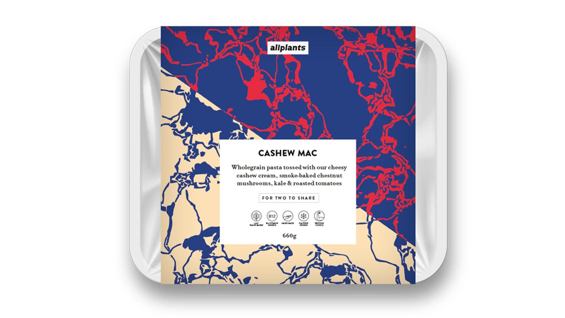 allplants cashew mac packaging