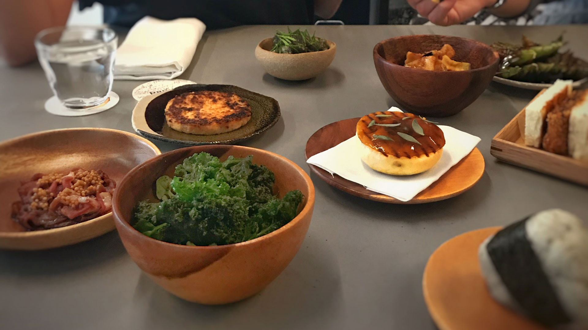 Selection of dishes from Untitled's day-to-day menu