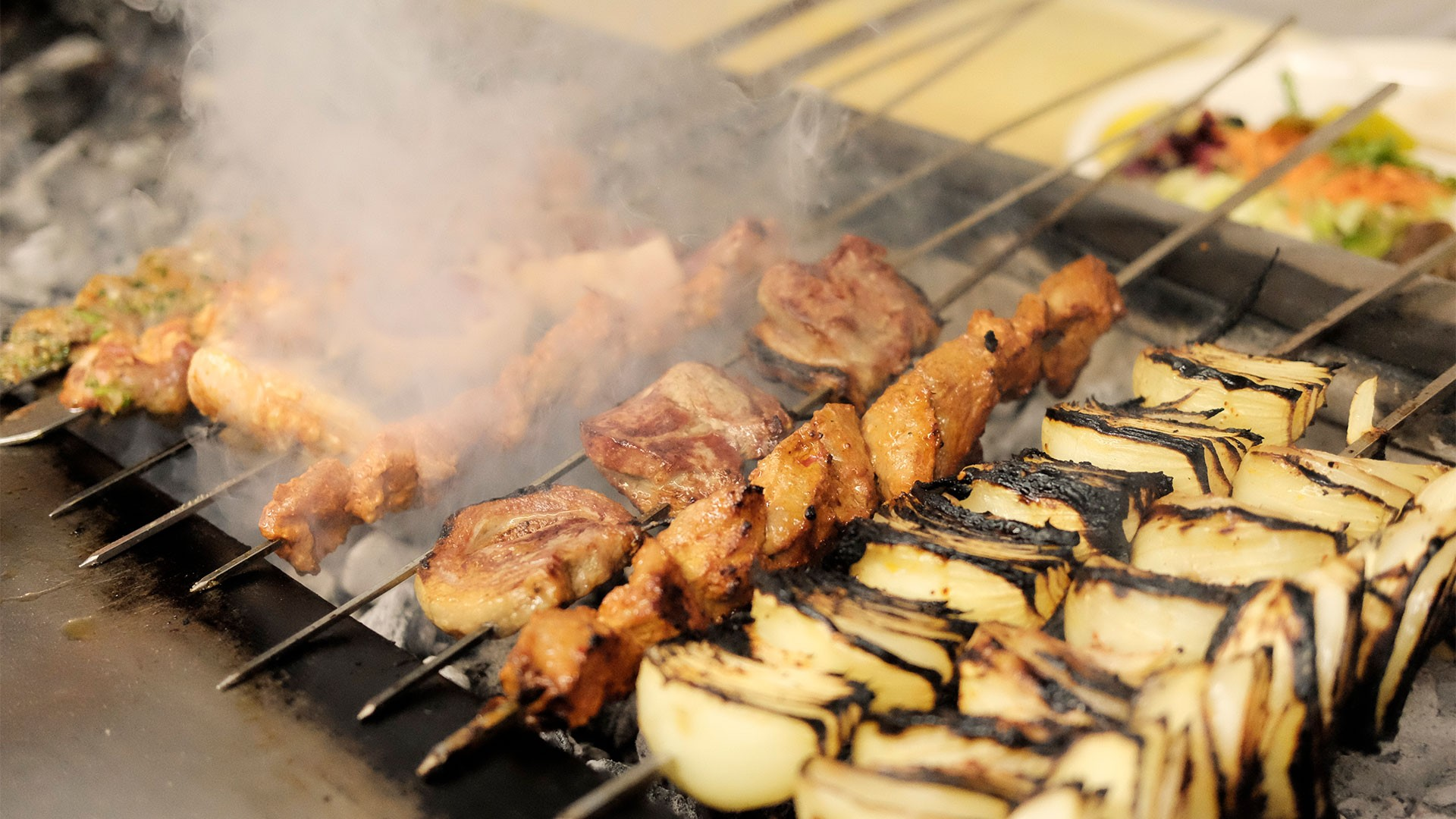 The grill at Mangal 2