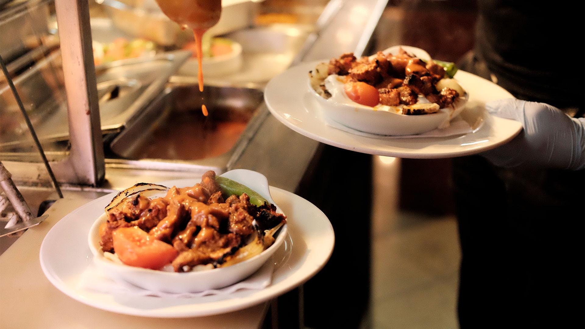 Dishes at Mangal 2