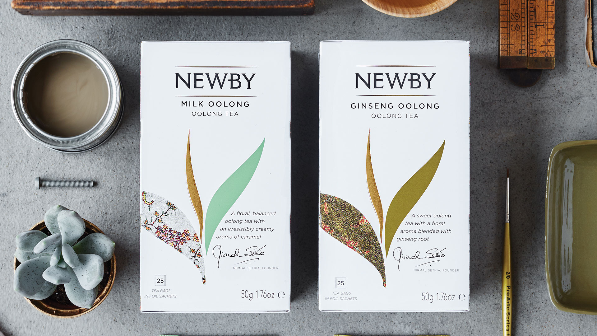 Win a year's supply of Newby Teas