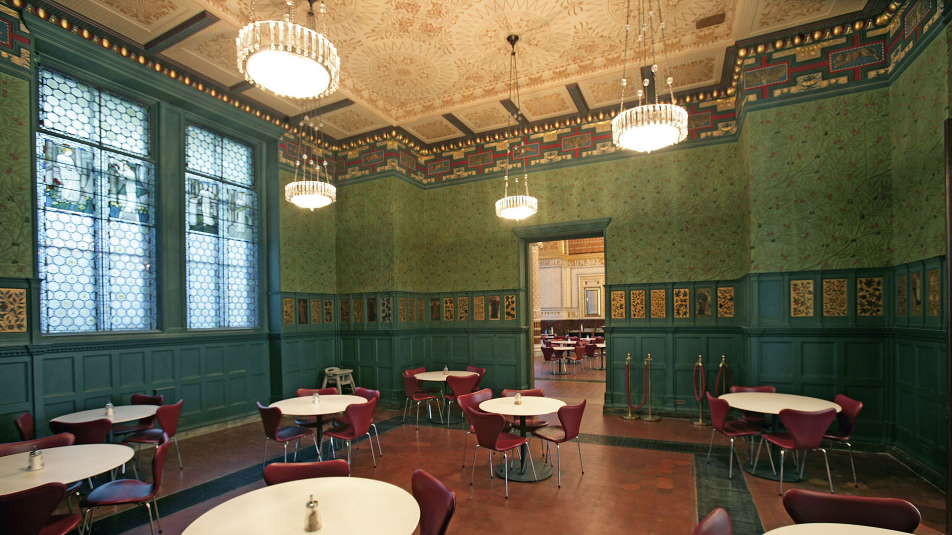 William Morris Room in the V&A Café
