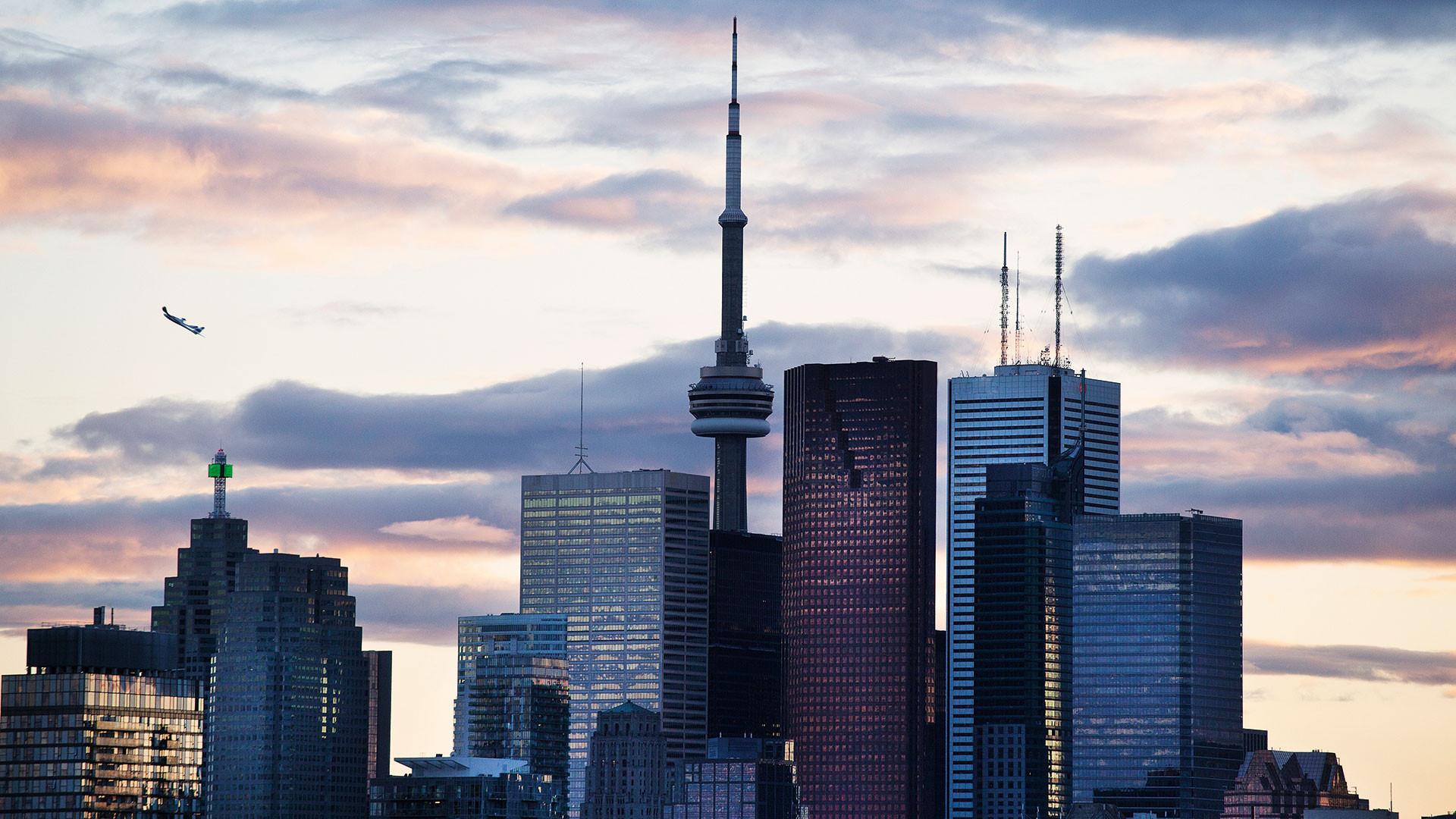 Toronto's iconic skyline