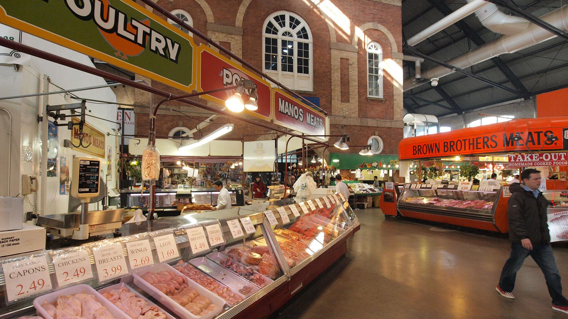 Toronto's St Lawrence Market
