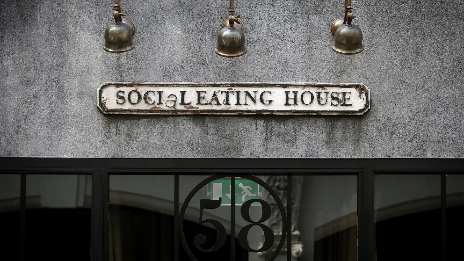 Outside Social Eating House