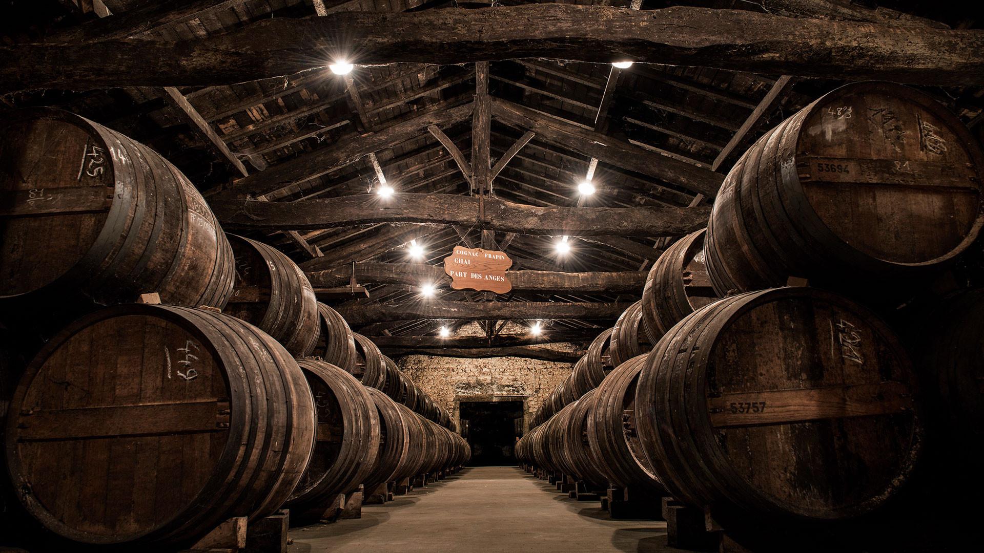 The cellar at Frapin