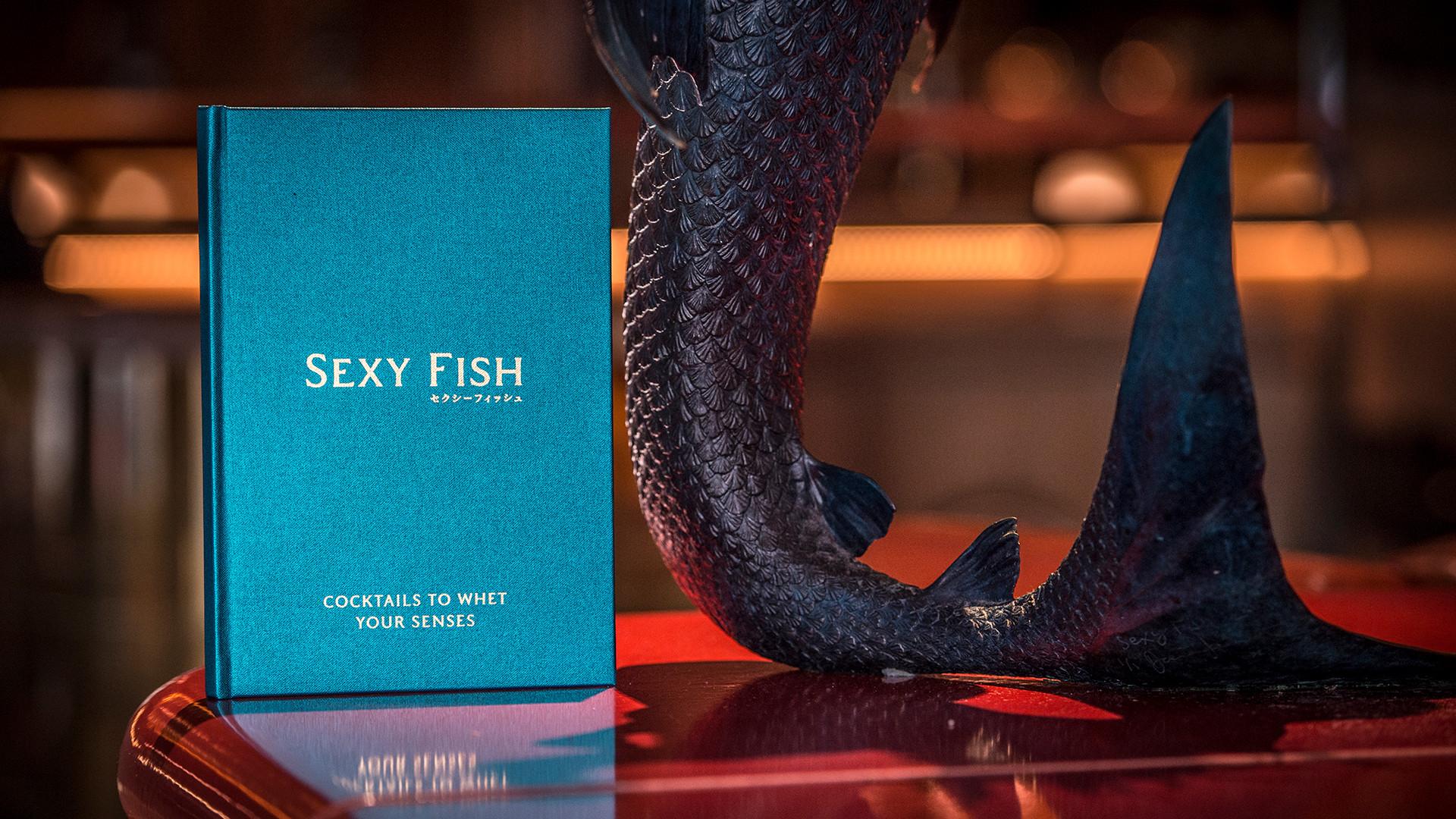 The menu at Sexy Fish, Mayfair