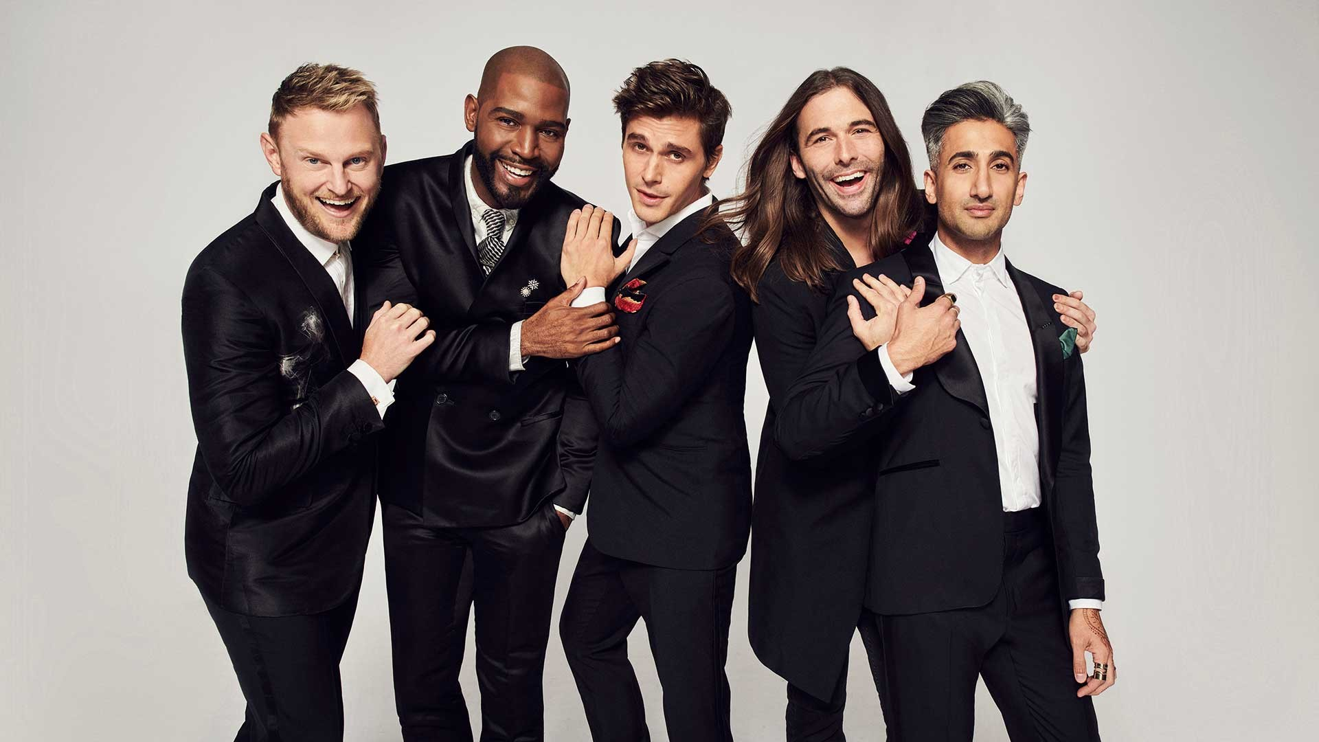 The cast of the relaunched Queer Eye