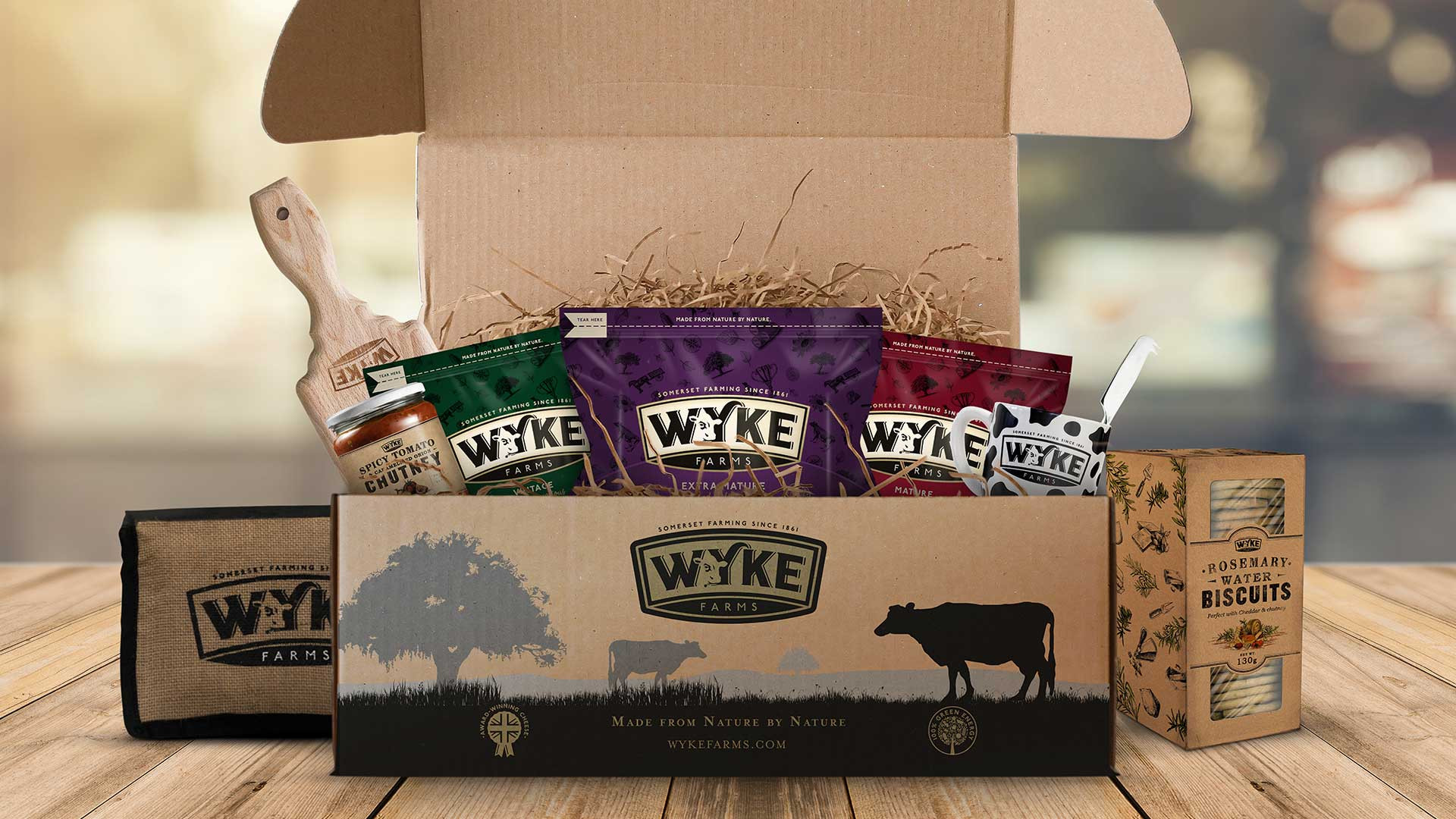 Wyke Farms Cheeselover's hamper