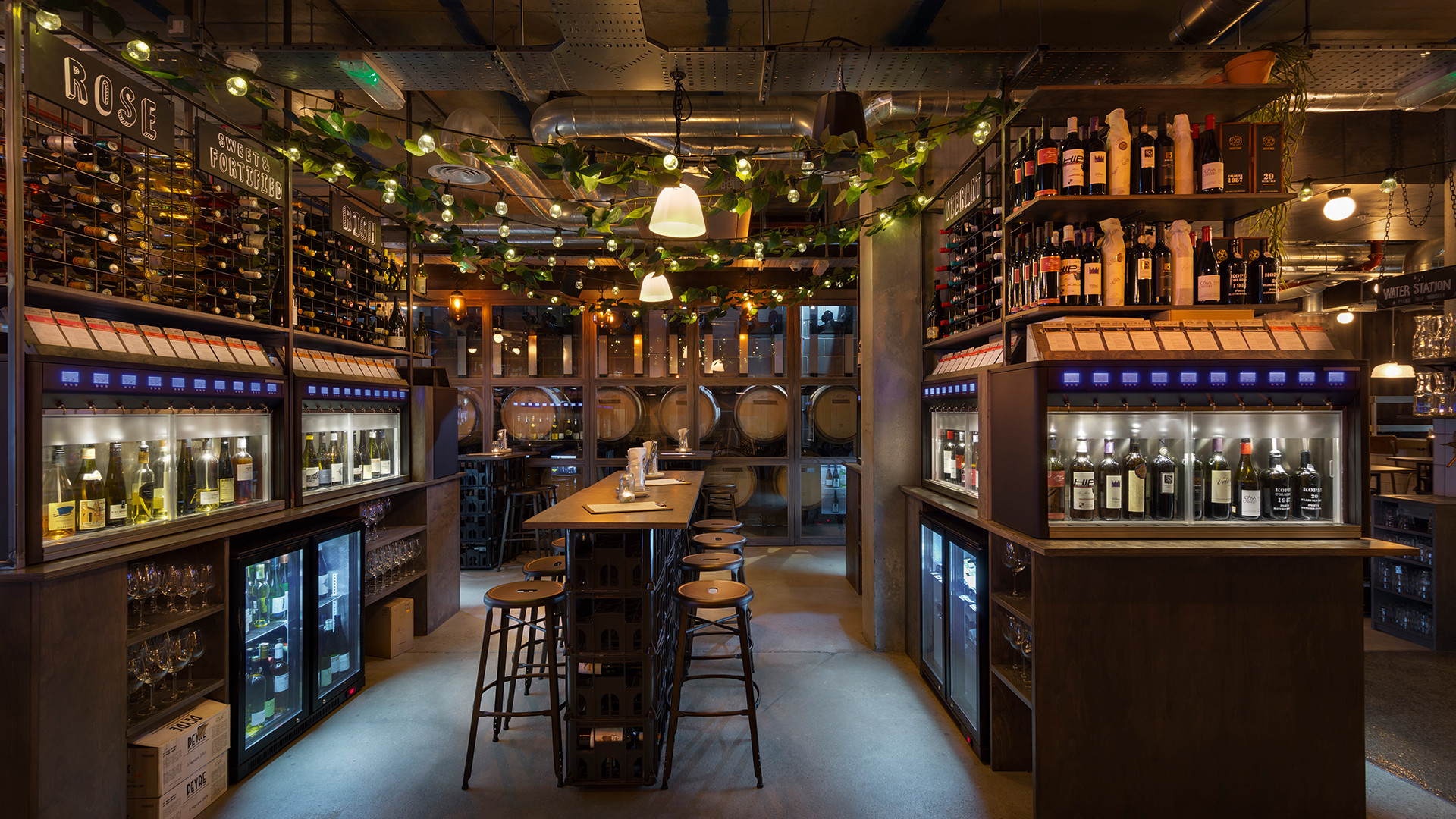 Vagabond in Battersea, which combines urban winery with a bar