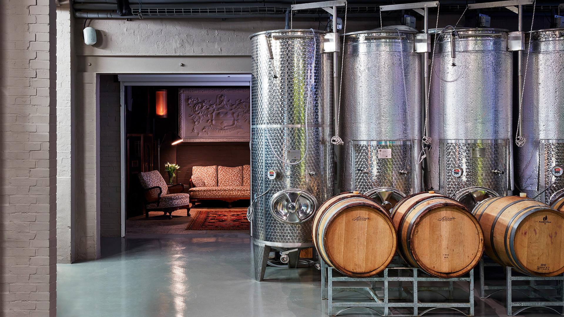Inside London Cru, pioneers in urban winemaking.
