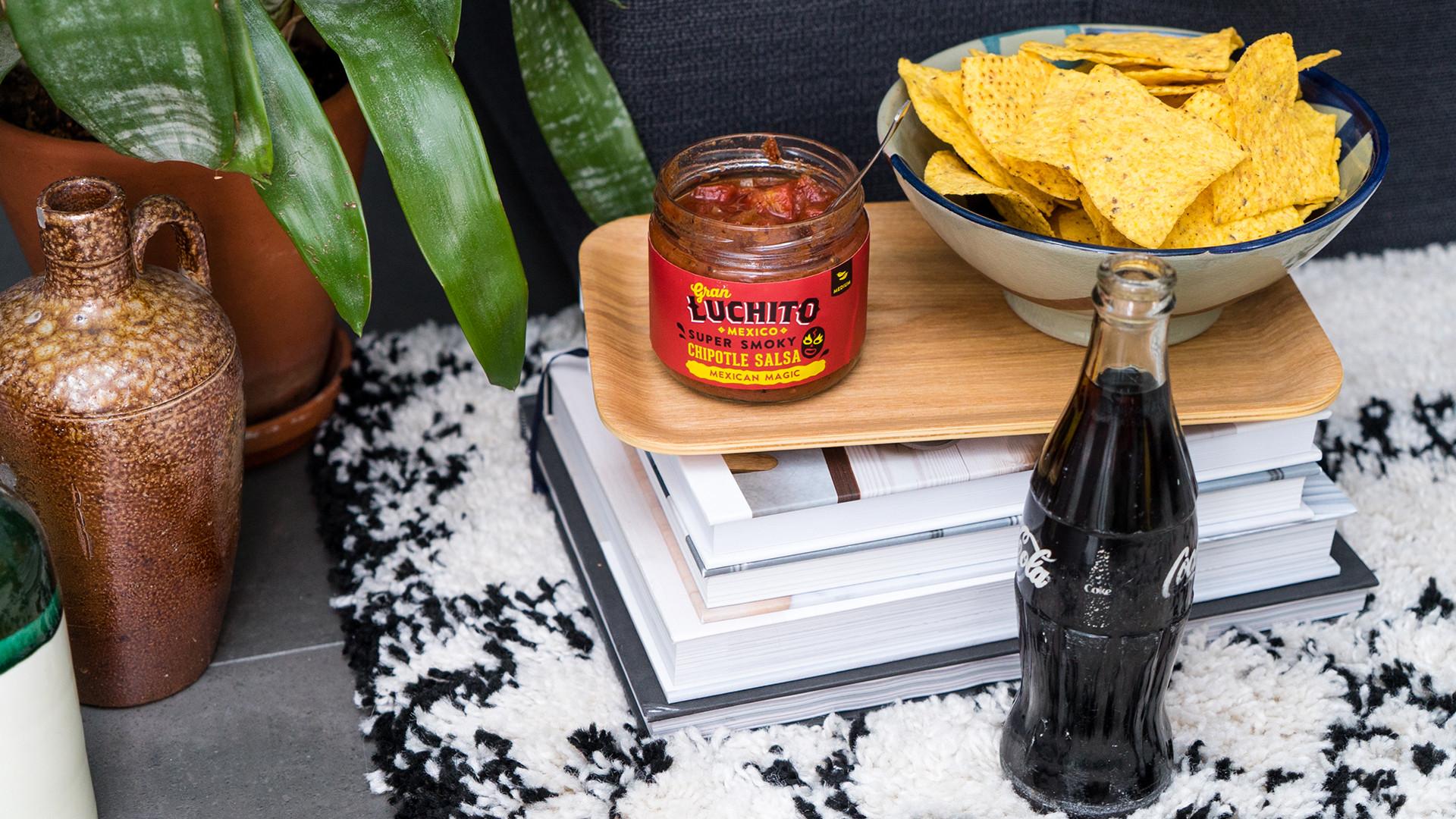 Gran Luchito's chipotle salsa