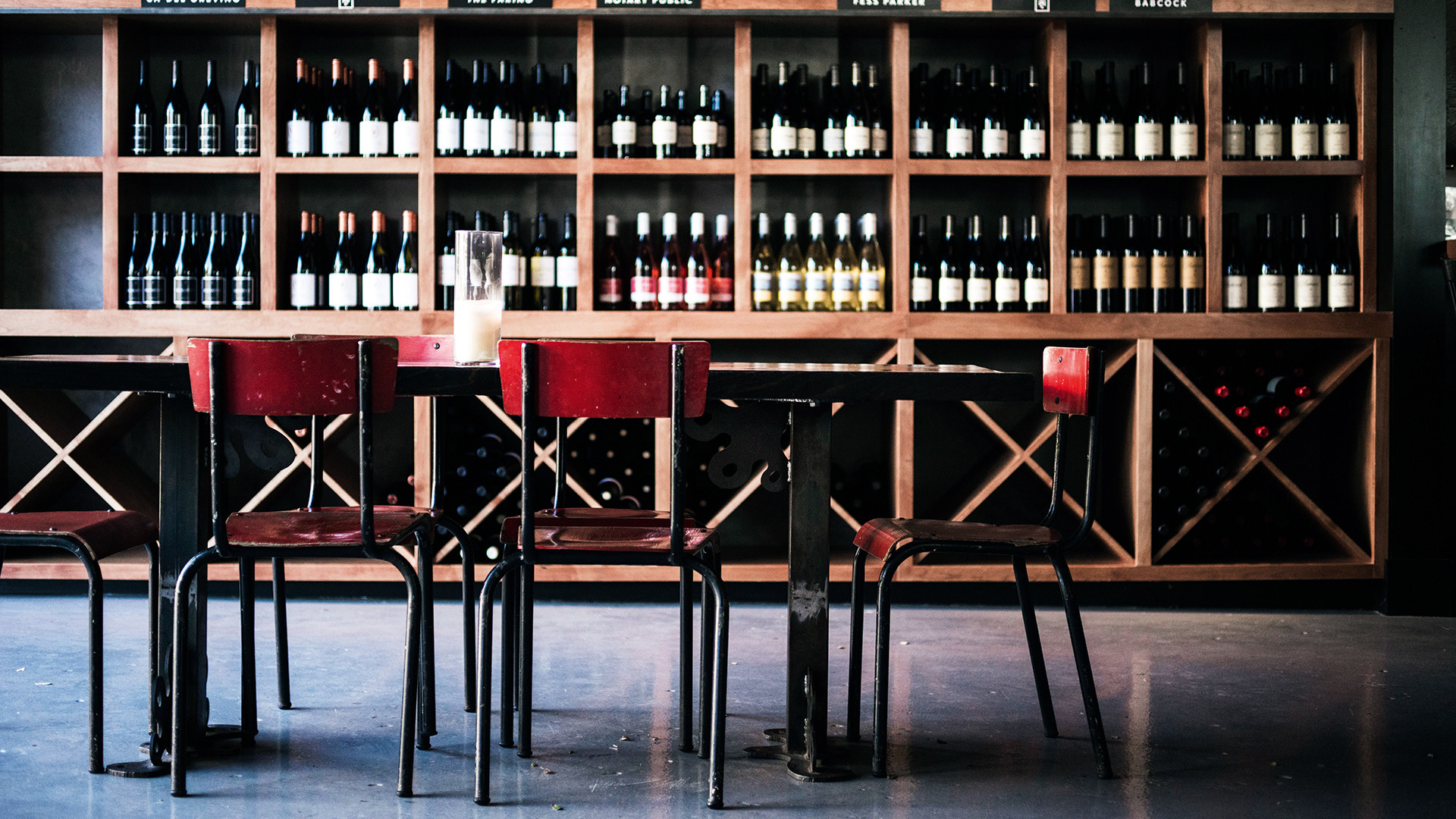 The tasting room of the Santa Barbara Wine Collective
