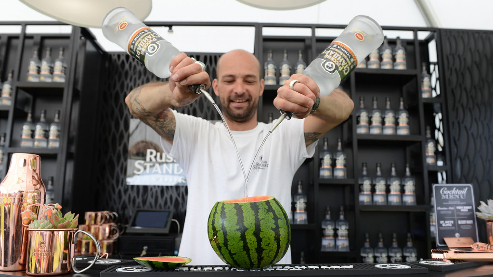 Russian Standard vodka at Latitude