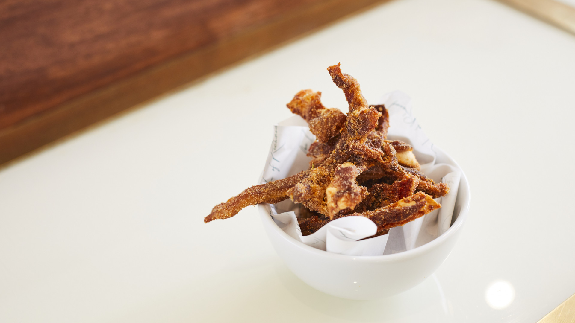 Crispy pig's ears from The Duke of Richmond in Hackney