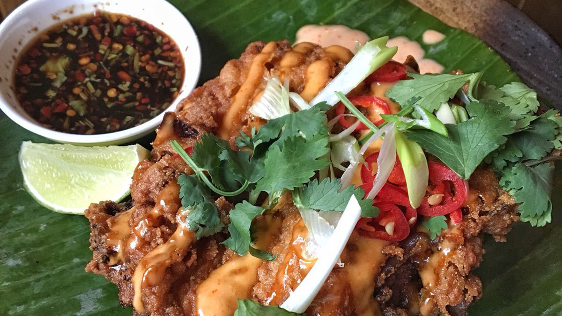 Gai Tod, KraPow's buttermilk, deep-fried Thai chicken