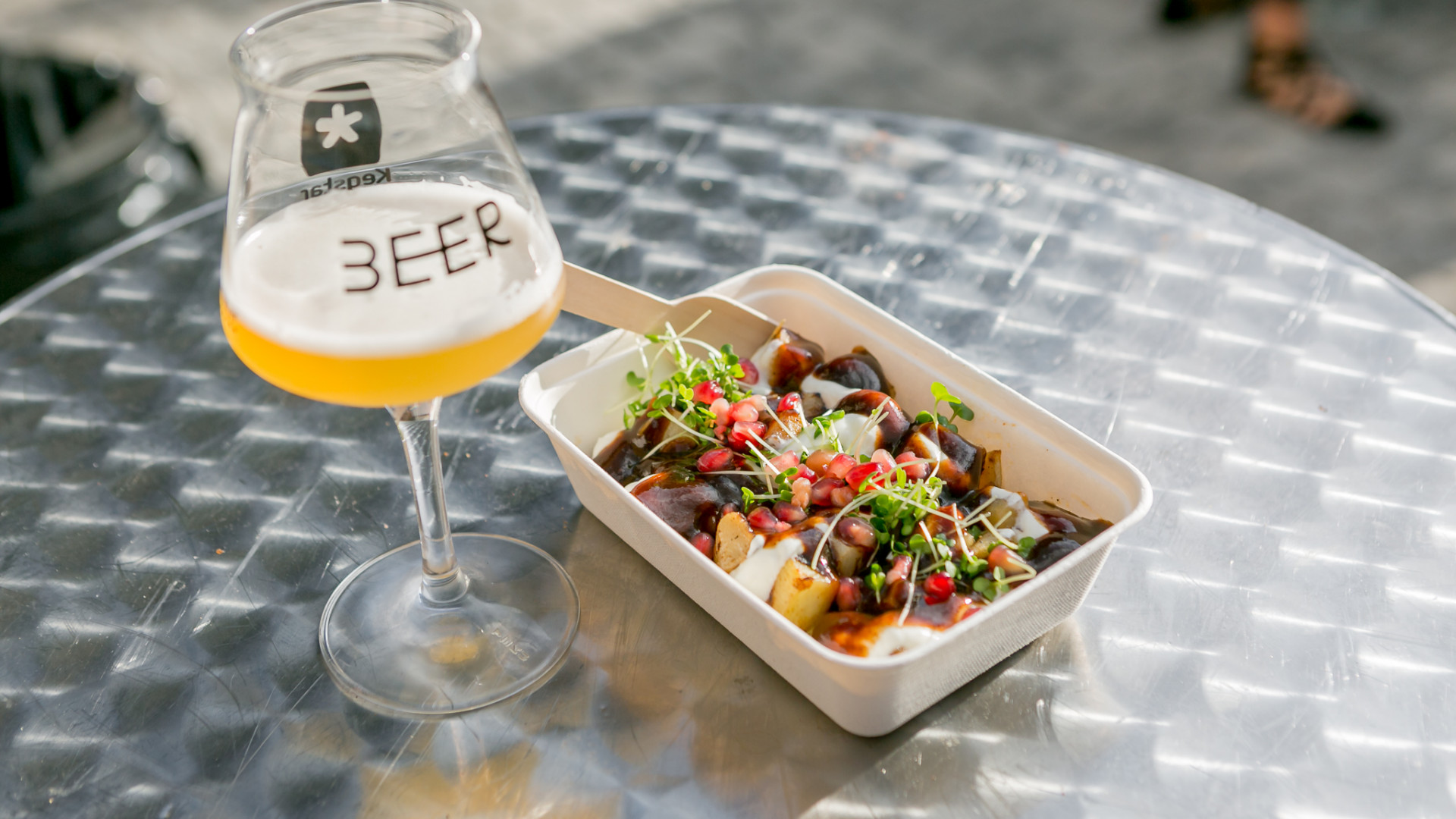 Food at London Craft Beer Festival