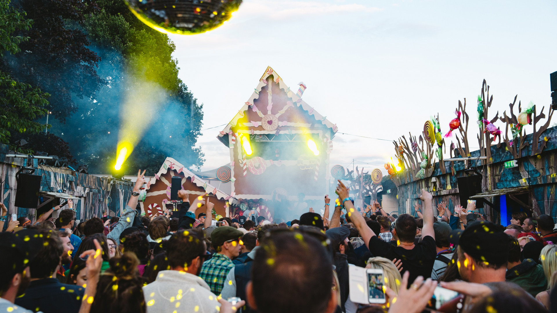 Standon Calling's Cow Shed