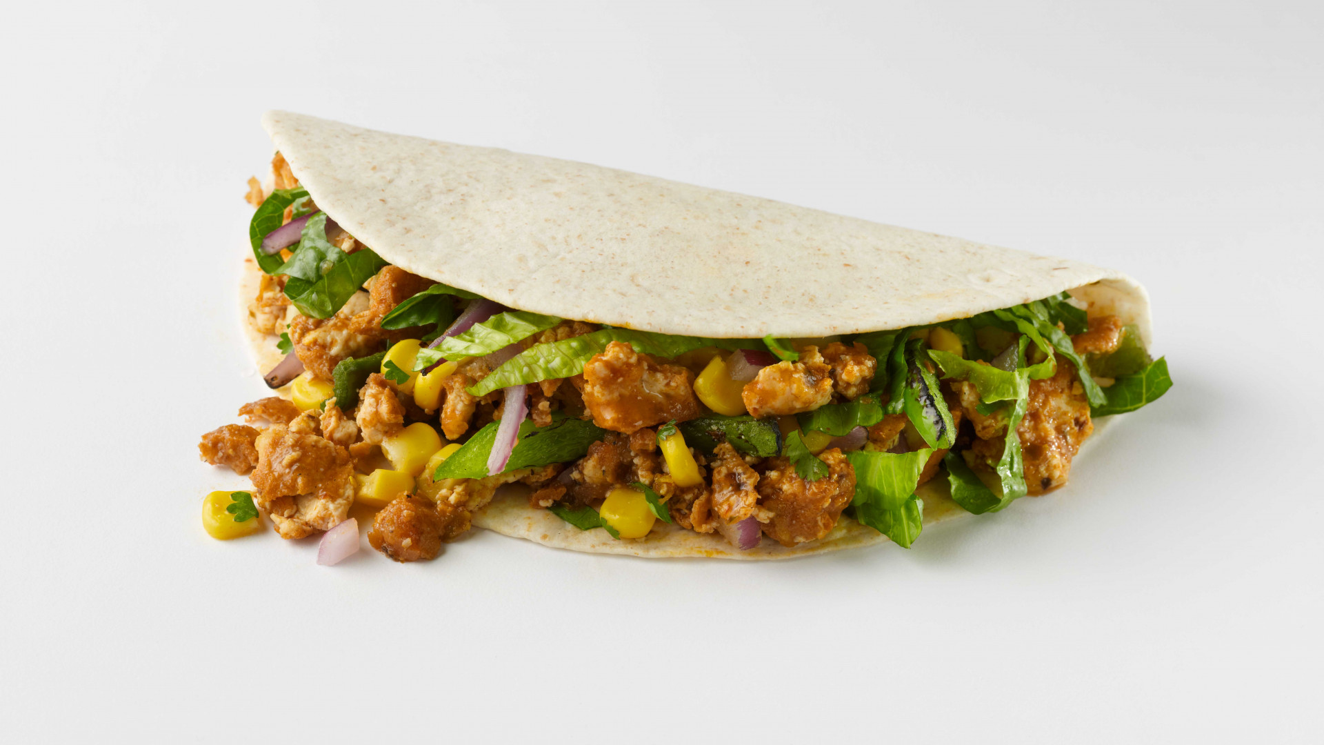 Vegan Boost taco at Chipotle