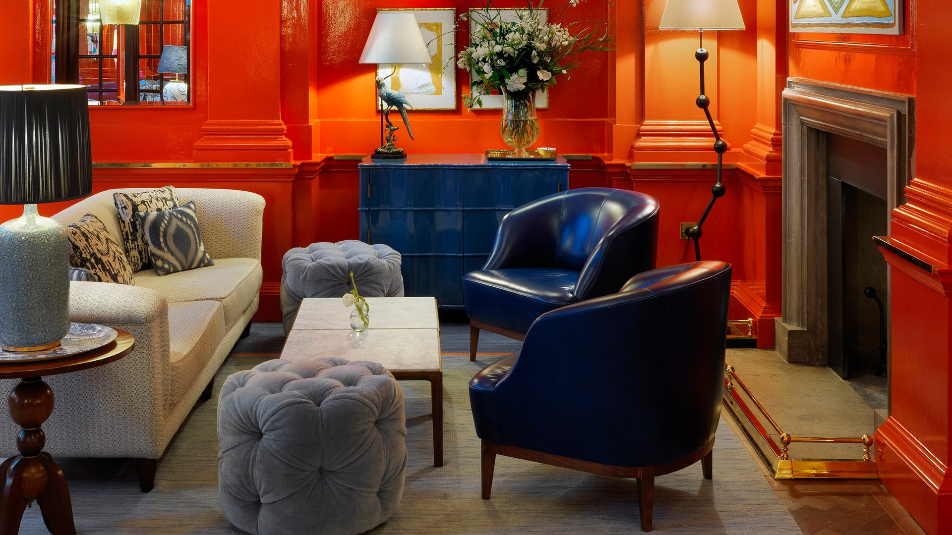 The Coral Room at The Bloomsbury Hotel
