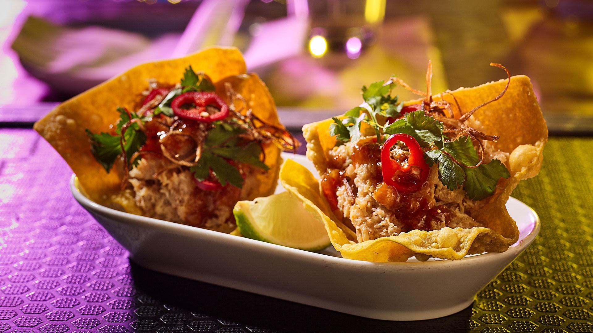 Black cod tacos