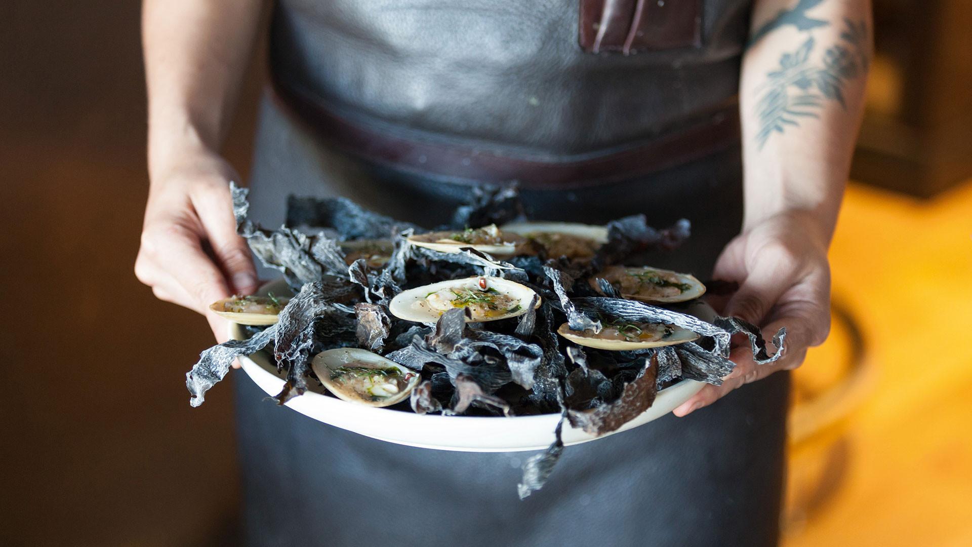 Seafood at Hiakai