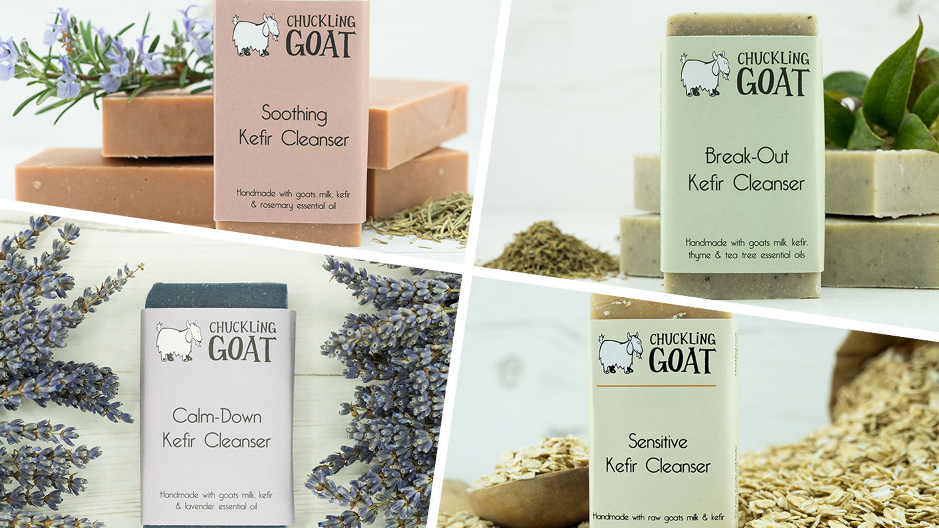 Win A Selection Of Chuckling Goat Goodies Worth Over 90 Lotion Kefir Cleanser Variety Pack