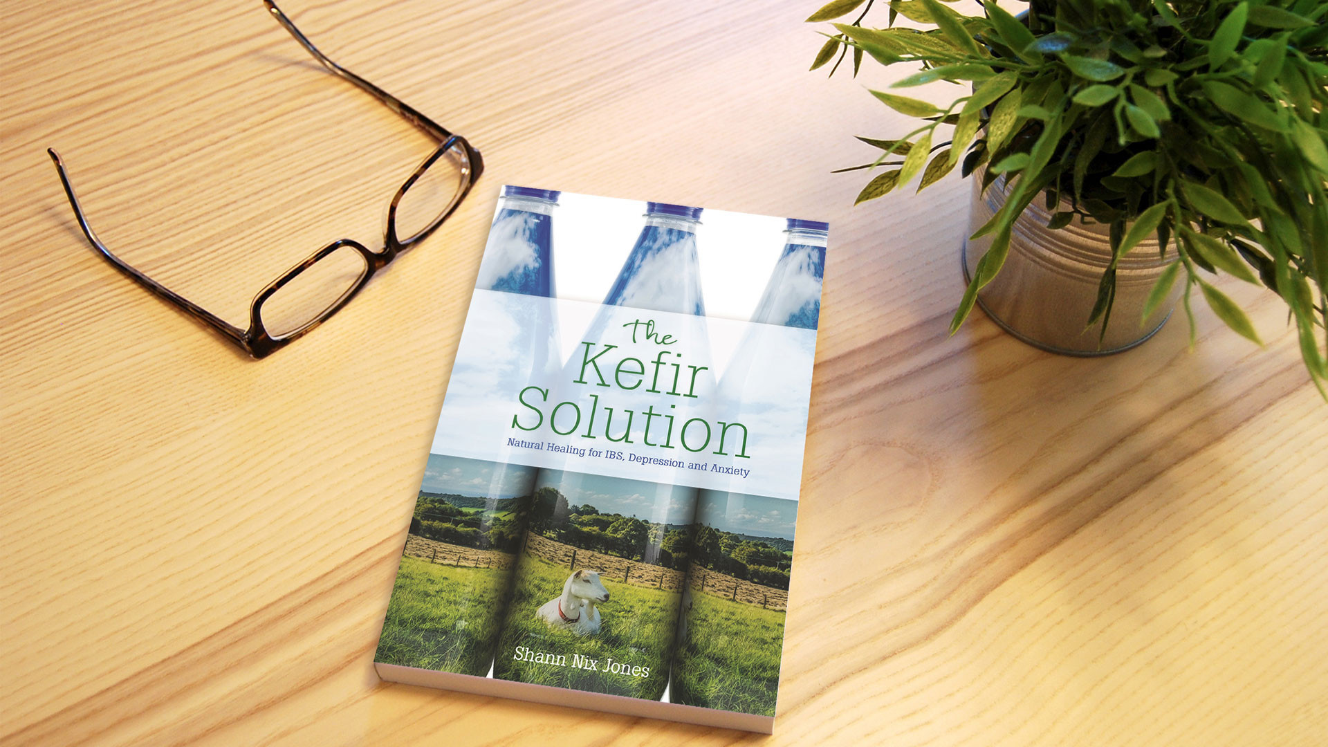 Shann Nix Jones' latest book, The Kefir Solution