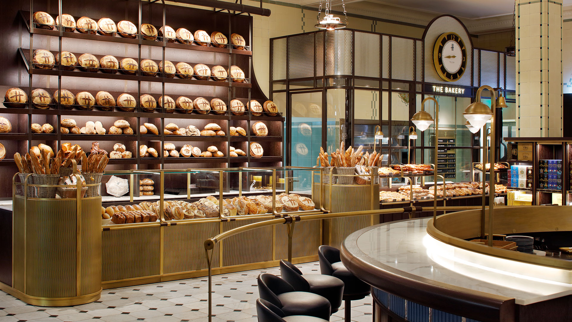 The all-sourdough bakery at Harrods' new Food Hall