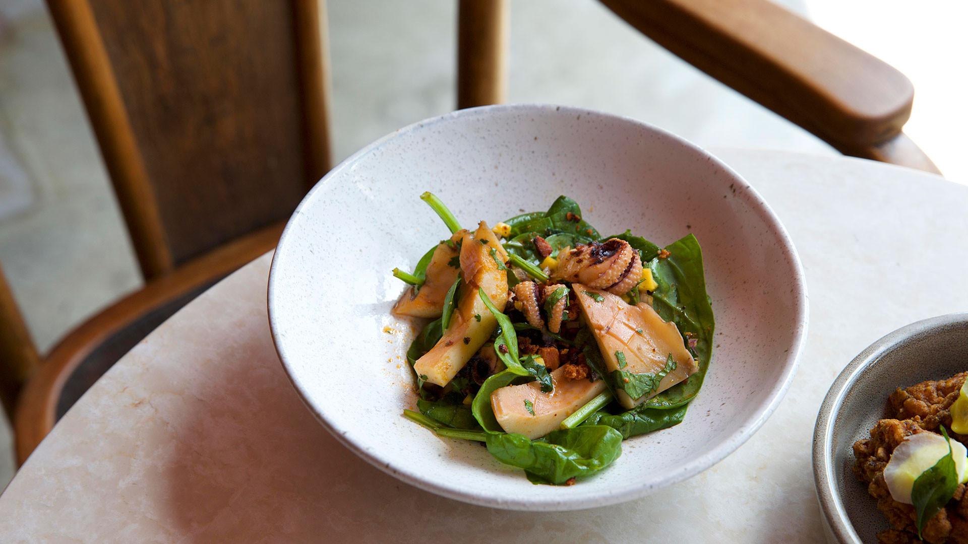 Kricket, Brixton's cuttlefish dish