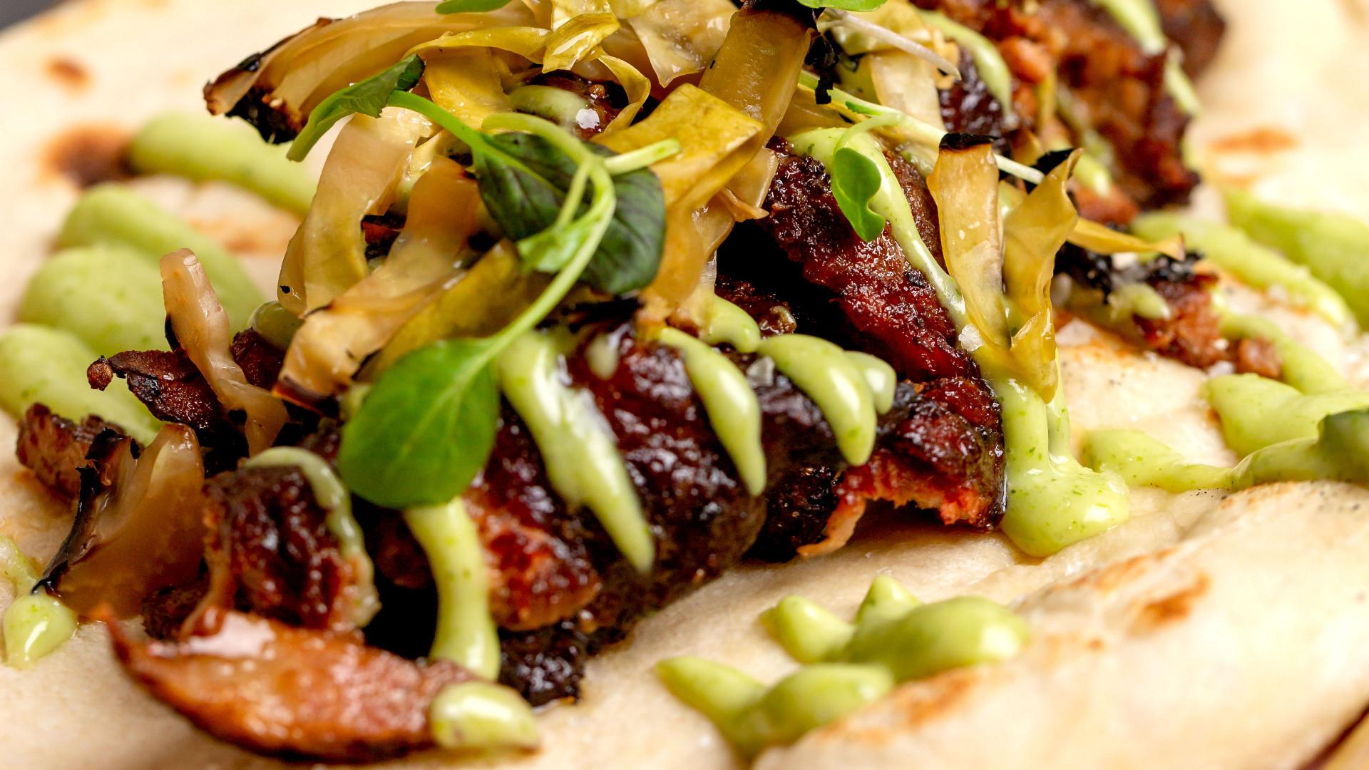 The 15-hour pork Shawarma