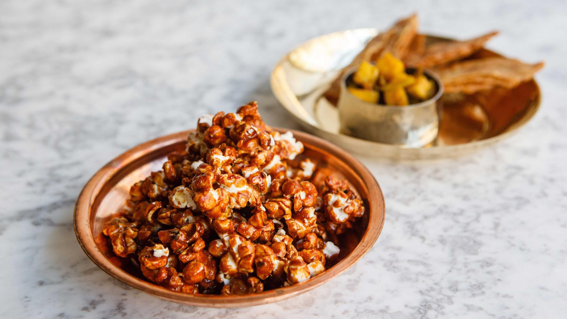 Cauliflower popcorn from Jikoni