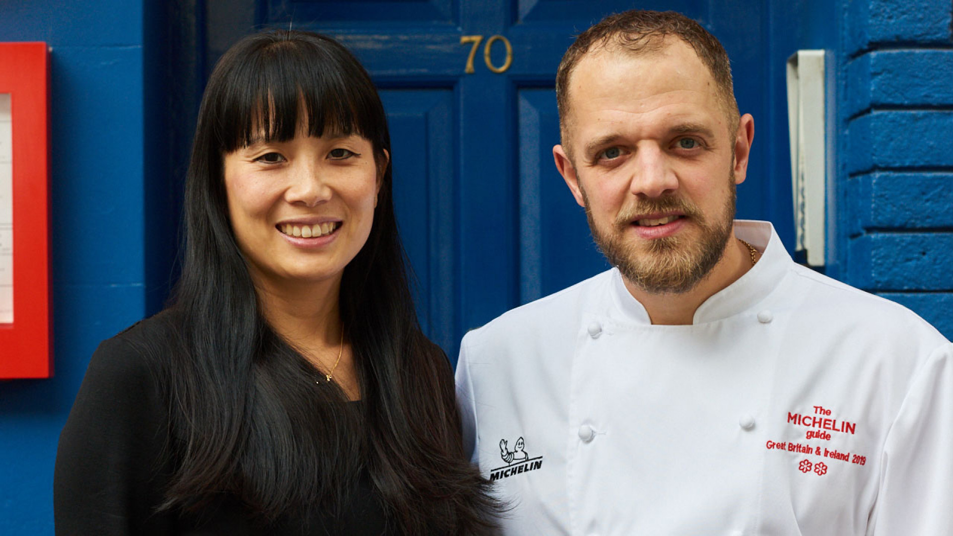Sandia Chang and James Knappett of Bubbledogs and Kitchen Table