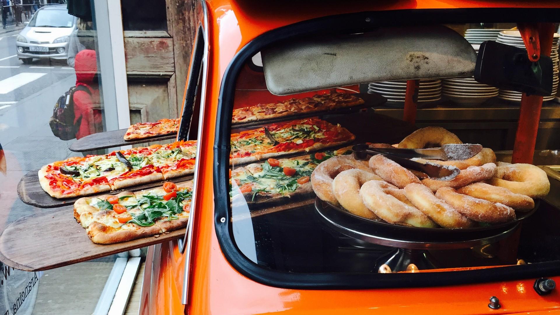 Arancina pizza