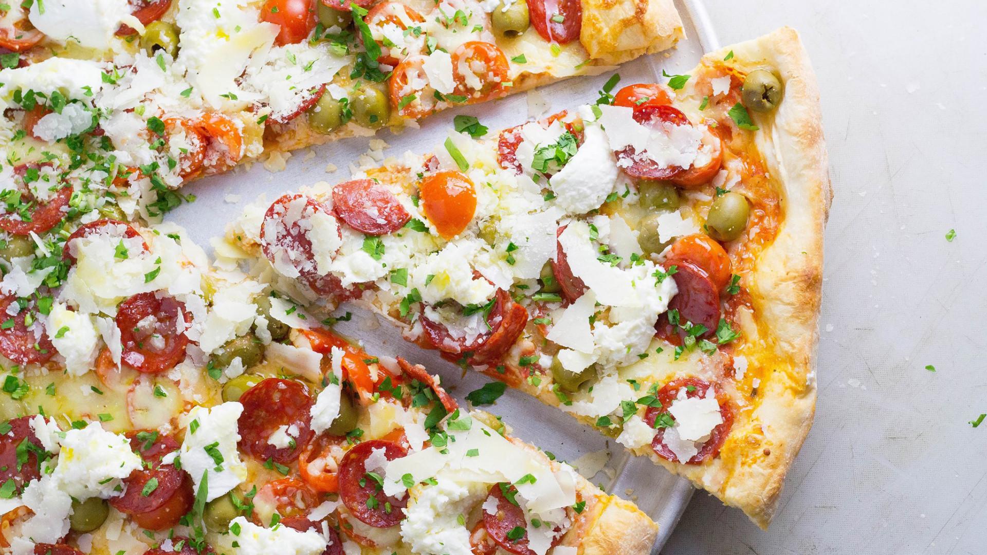 NY Fold pizza