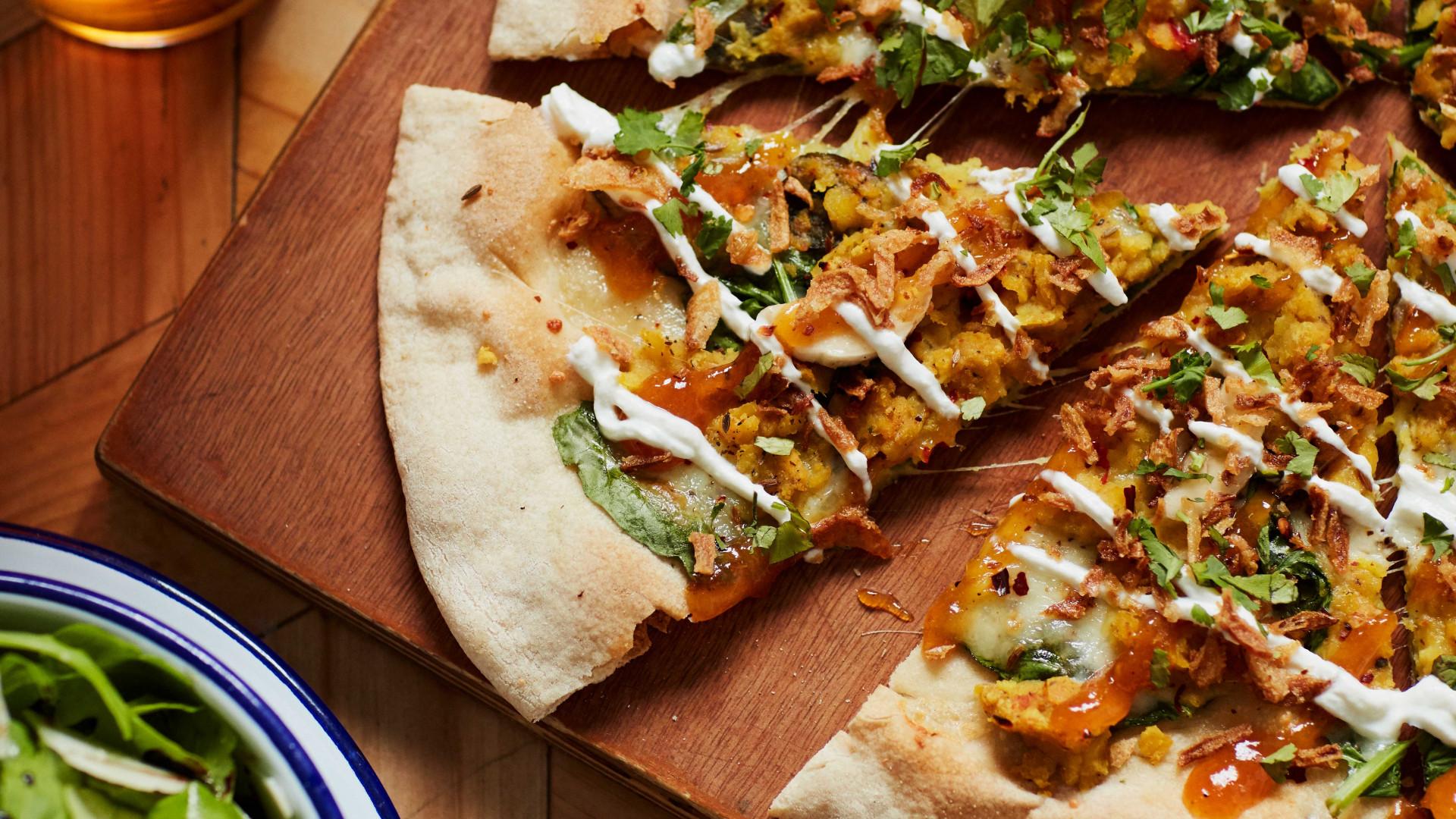 Crate Kashmiri Dahl Pizza