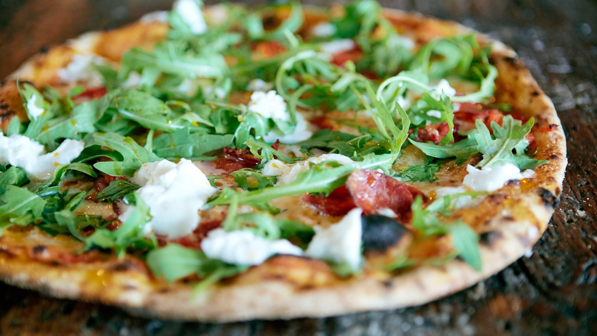 Pizza at Lord Morpeth