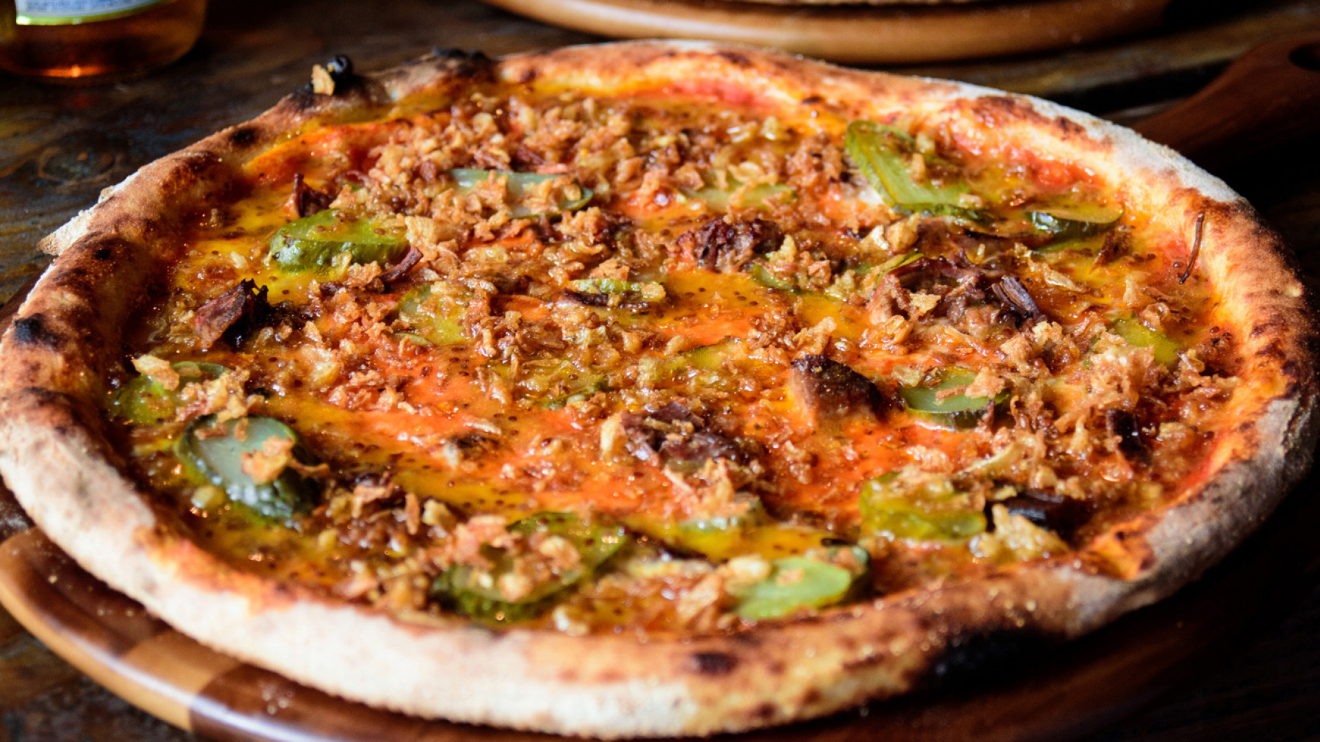 The Geezer pizza