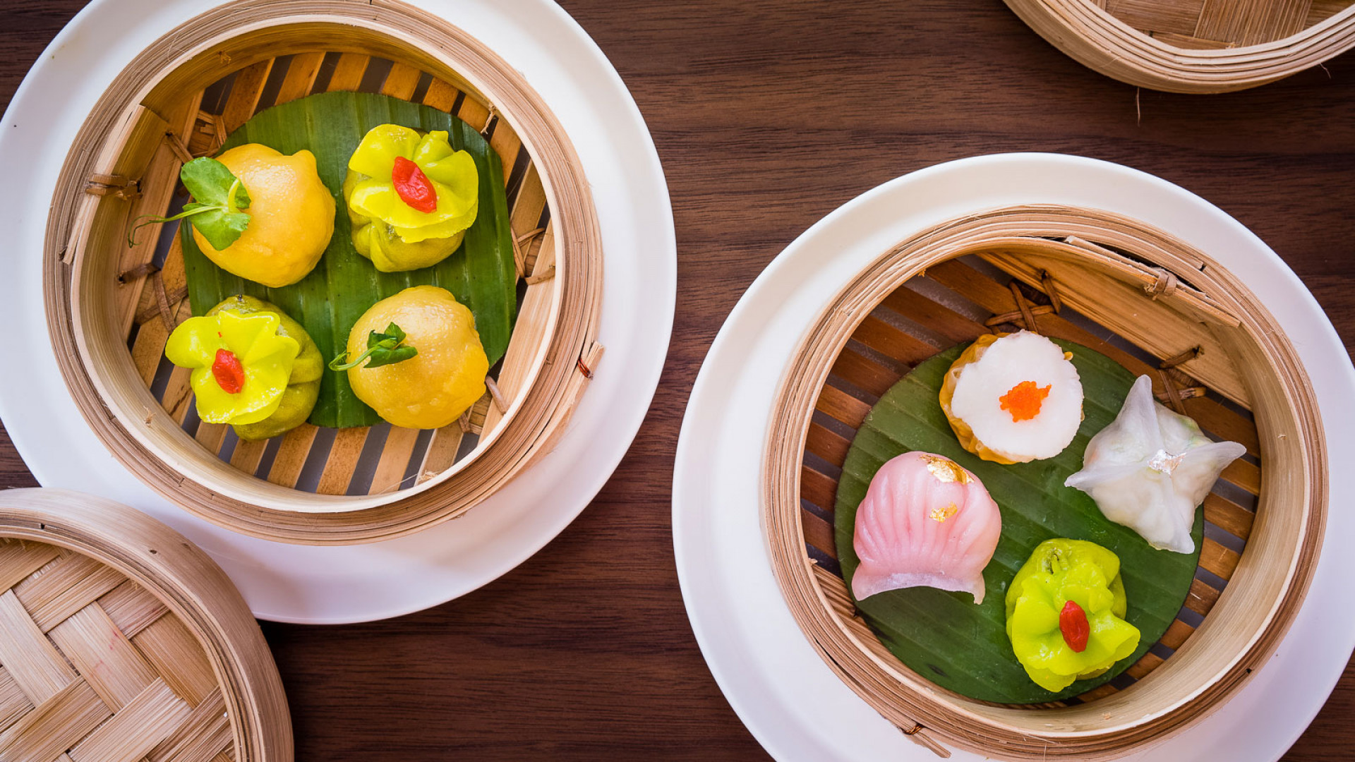 Steamed dim sum from Mei Ume