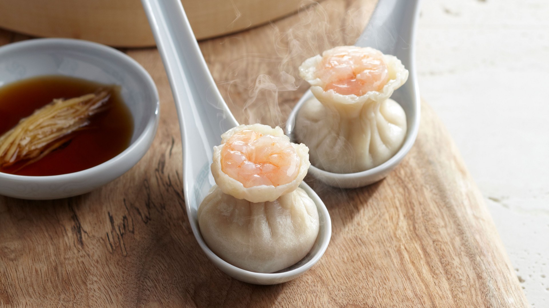 Pork and prawn shao mai