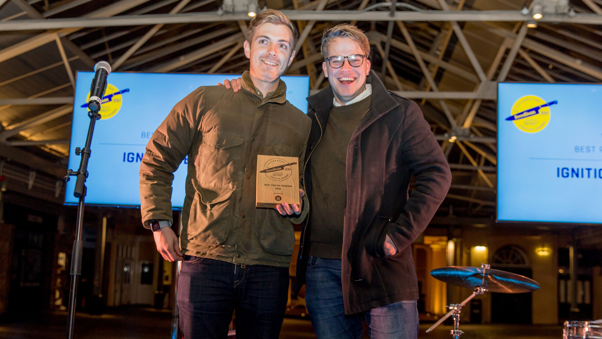 The Foodism 100 awards night 2019: Ignition Brewery wins Best Pub or Taproom