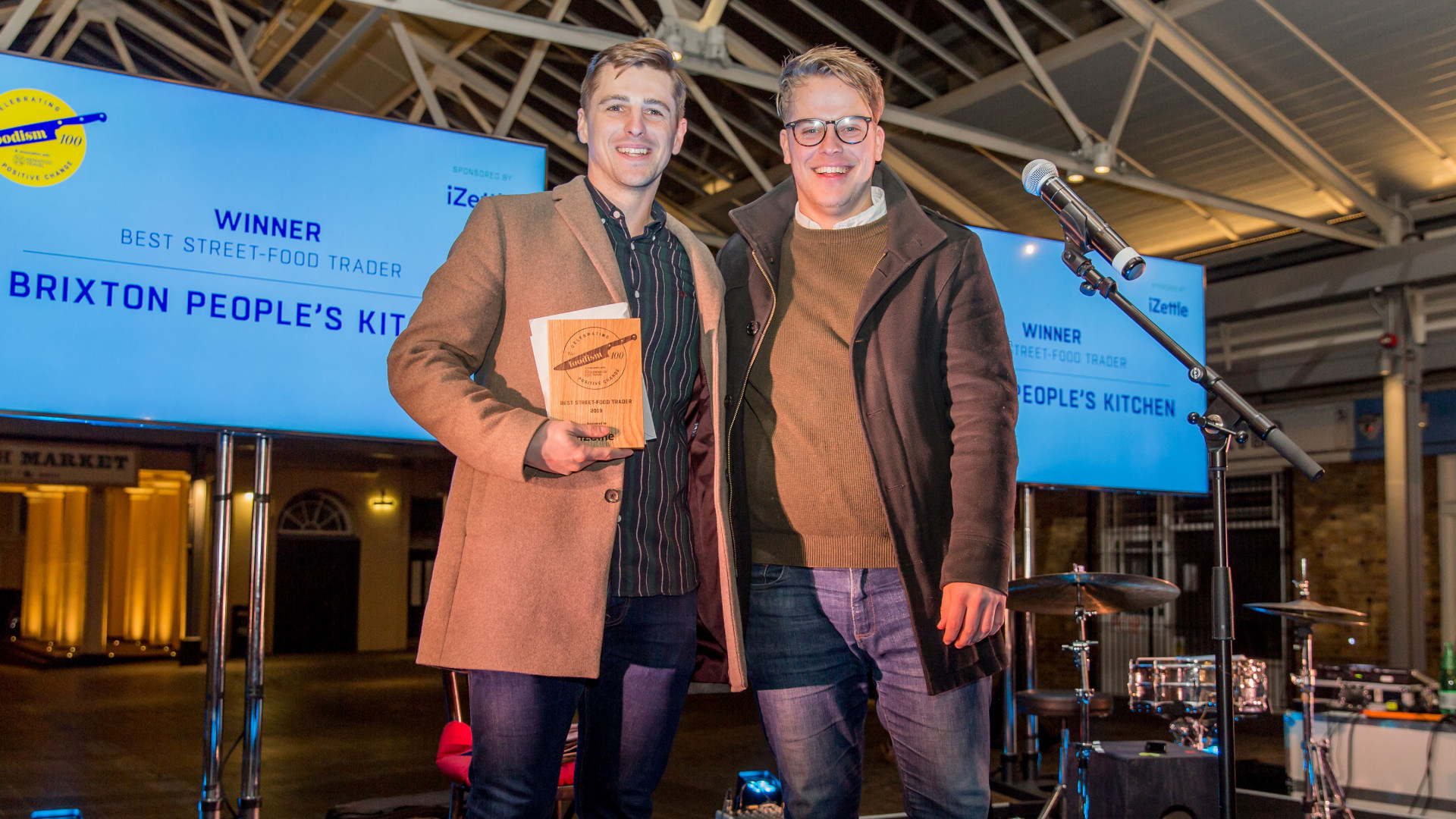 The Foodism 100 awards night 2019: Brixton People's Kitchen wins Best Street-Food Trader