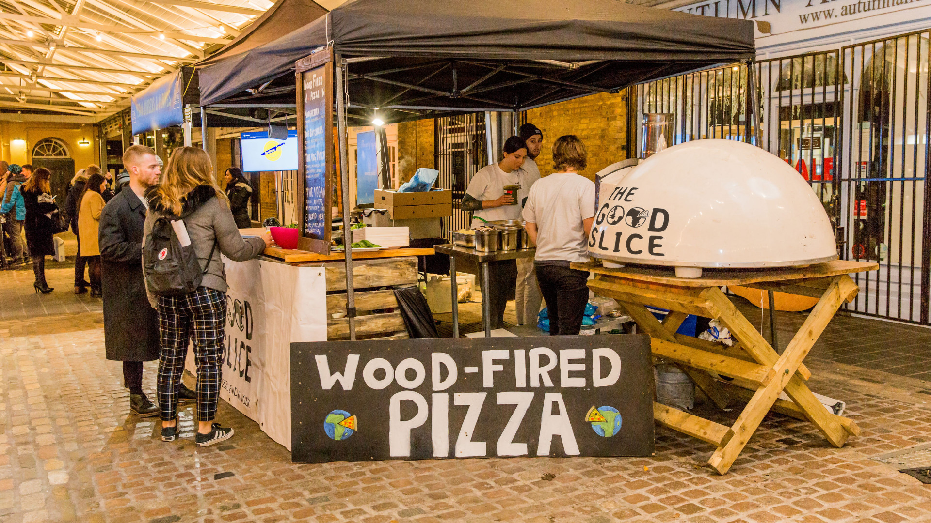 The Foodism 100 awards night 2019: Pizza from The Good Slice