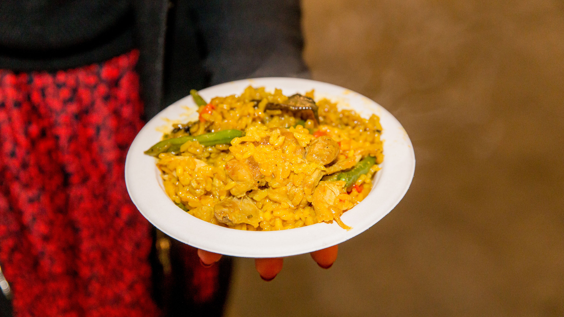 The Foodism 100 awards night 2019: Paella from Crocus Paella