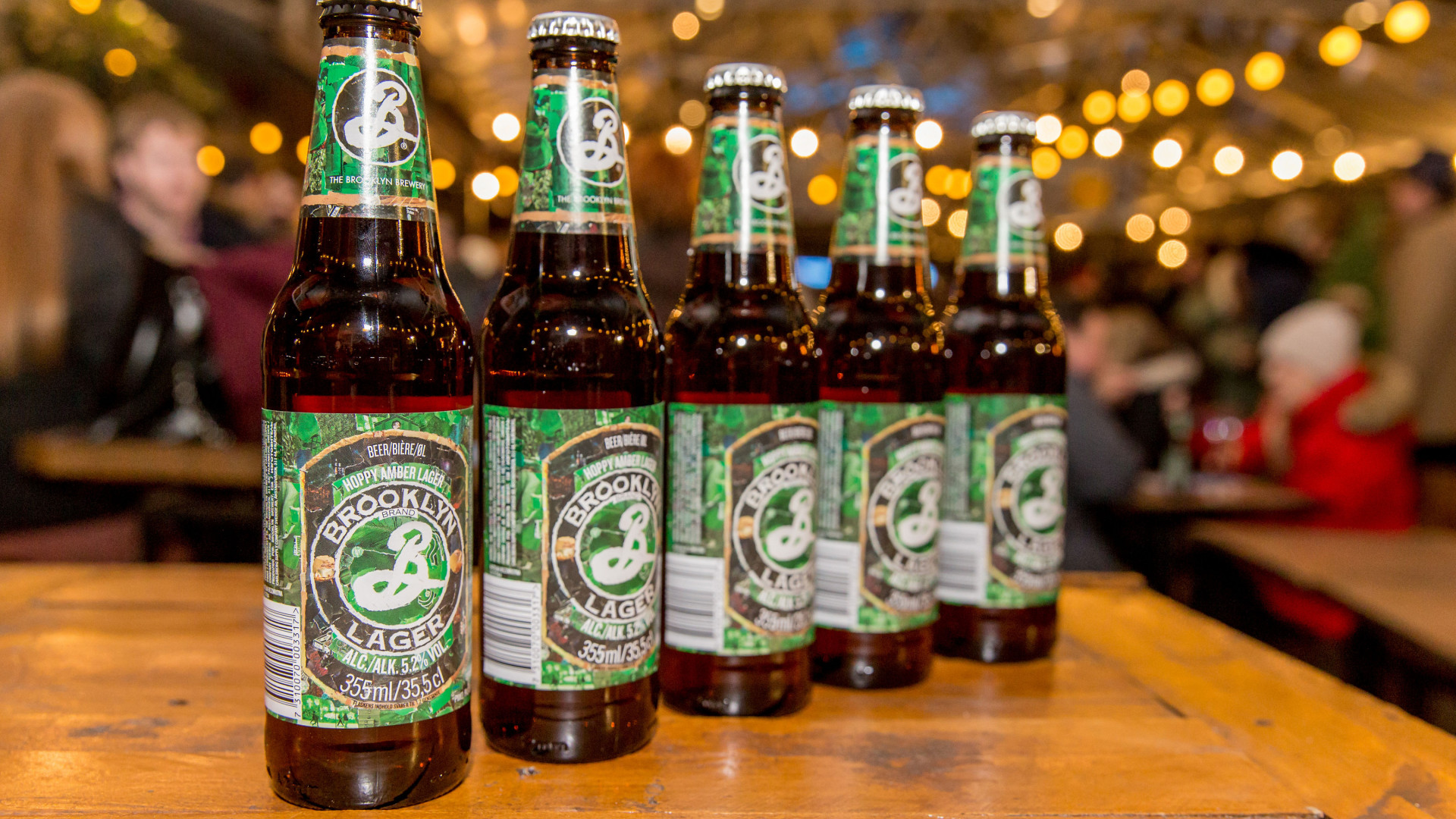 The Foodism 100 awards night 2019: Beer was provided by Brooklyn Brewery