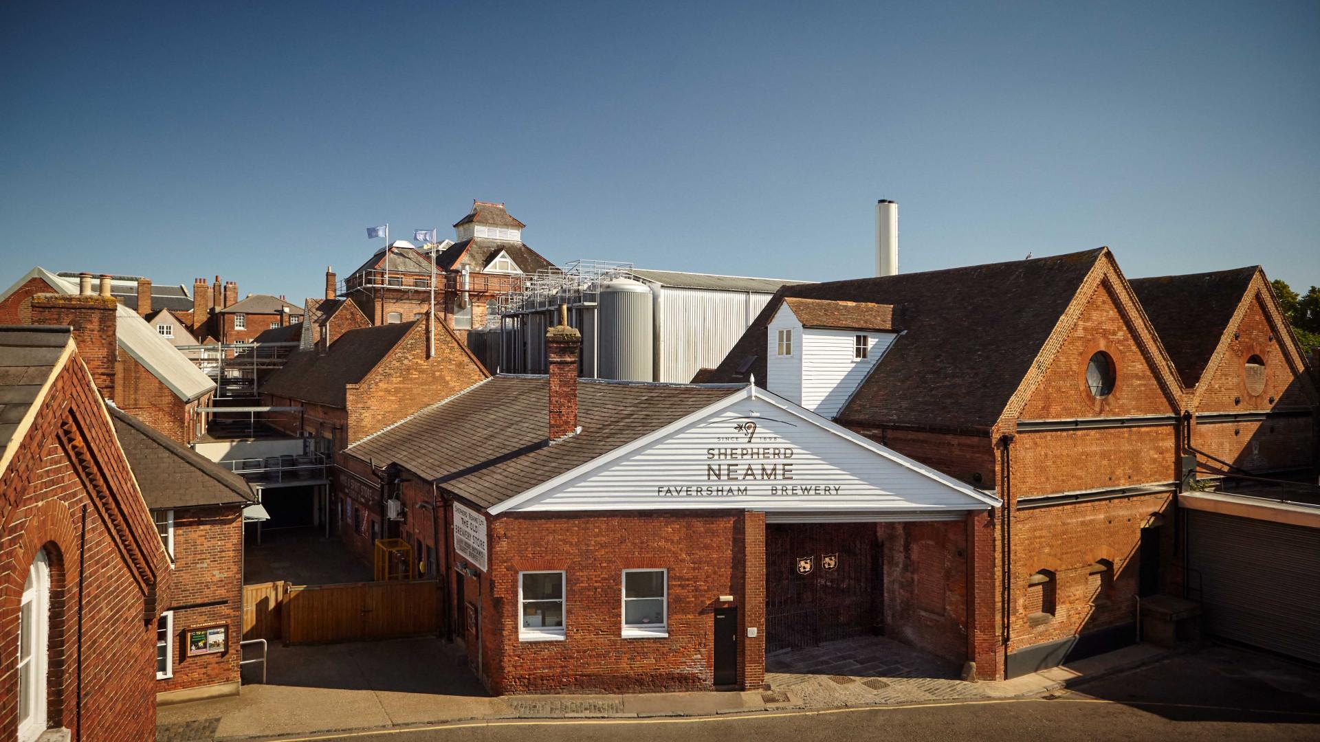 Shepherd Neame Brewery, Faversham
