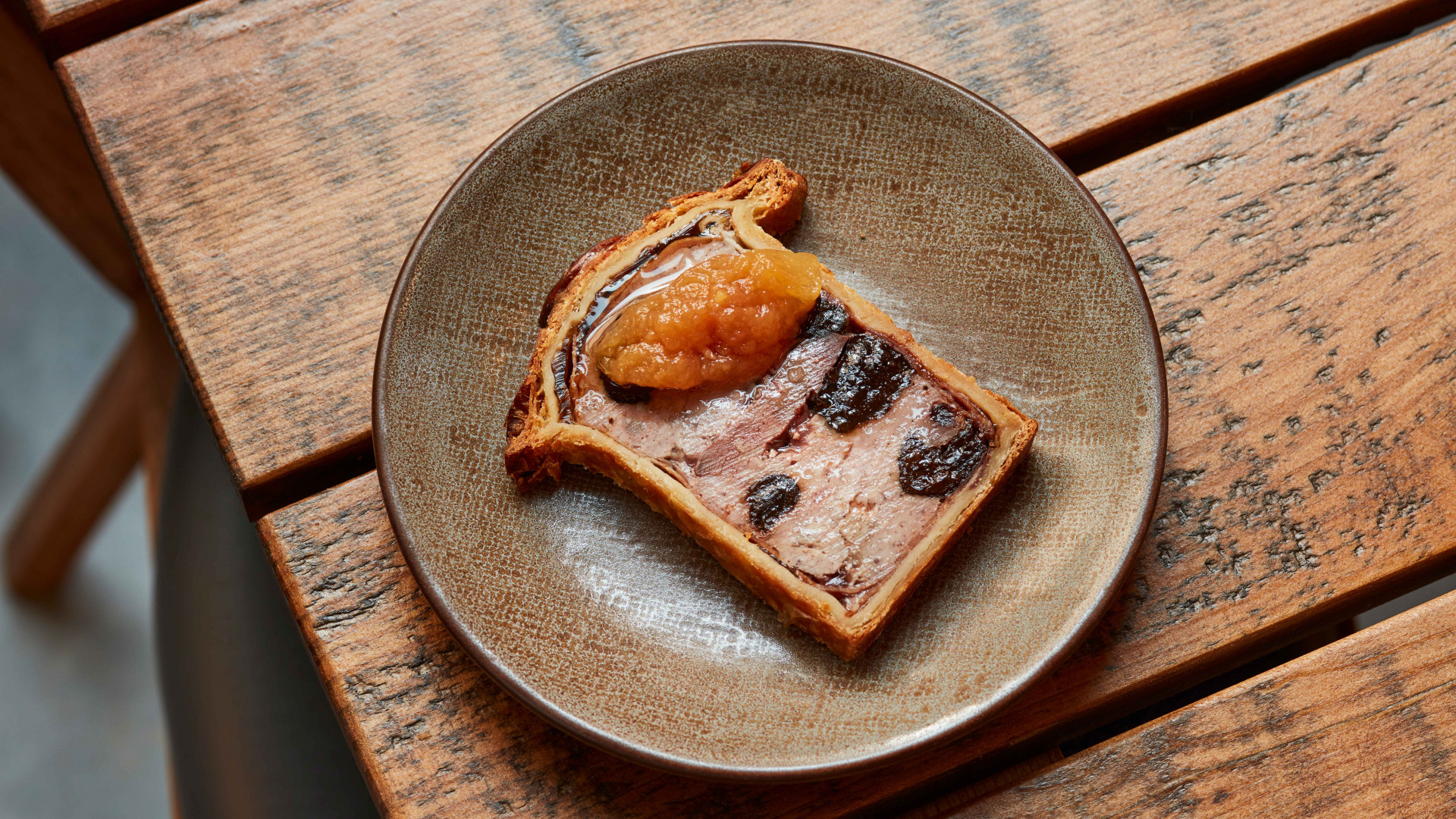 Game pate en croute at Lino, Clerkenwell